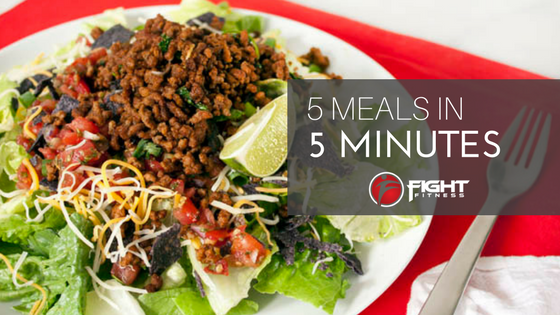 5 Meals Ready in 5 Minutes