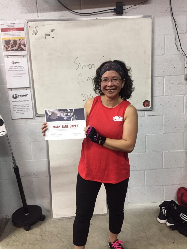 Mary Jane Lopez – Ninja of the Month February 2019